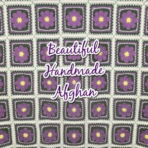 Handmade Afghan Never used